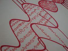 Painting, lines, graphic, marinaslines