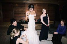 Ivory & White Bridal Boutique: Real Wedding - Polly | Monique Lhuillier Bridal Gown @m_lhuillier
