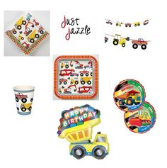 Big Rig Meri Meri Transportation Truck Birthday Party Supply U Pick
