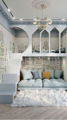 kids bedroom DIY Luxury Kids Bedroom, Modern Kids Bedroom, Kids Bedroom Designs, Room Design Bedroom, Room Ideas Bedroom, Home Room Design, Kids Room Design, Bedroom Decor, Kid Bedrooms