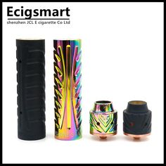 Sebone Mod Vape Kit Mech Mods with Wide Bore Drip Tip 5 Large Vent Holes Electronic Cigarette