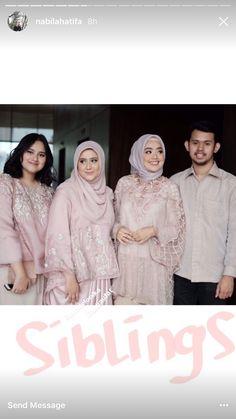 Kebaya Lace, Batik Kebaya, Kebaya Dress, Dresses To Wear To A Wedding, Bridesmaid Dresses, Beautiful Hijab, Beautiful Dresses, Hijab Prom Dress, Muslim Wedding Gown