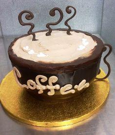 How To Make A Coffee Mug Shaped Cake