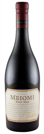 86 pts. Belle Glos Meiomi Pinot Noir 2010A pretty good Pinot Noir, elegantly silky as it should be, with flavors of tart cherries, cola, red licorice and sandalwood. It's a bit too soft and sweet, but easy to drink.  — S.H.  (12/31/2011)