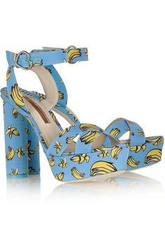 114472f9b7a Sophia Webster - Amanda printed faille sandals