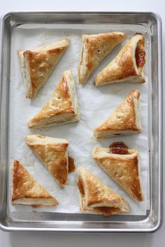 2 recipes: 15-min. Mini Turnovers & Glass Jar Spiced Pumpkin Pies (individual) by The Scootabaker, via Flickr