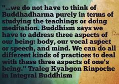 #integralbuddhism #dharma #buddhistquotes #buddhistquote #bodyspeechmind #vajrayana #vajrayanabuddhism #tulku #tralegkyabgon #tralegrinpoche #tralegkyabgonrinpoche #buddhism #buddhistbook #tibetan #tibetanyoga #yoga #yogi #yogin
