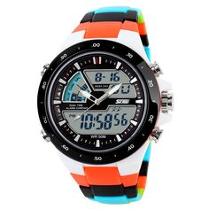 50M Waterproof Mens Sports Watches Relogio Masculino 2016 Hot Men Silicone Sport Watch Reloj S Shockproof Electronic Wristwatch Like and Share if you agree!  #shop #beauty #Woman's fashion #Products #Watch