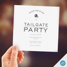 Tafel GRILLEN Geburtstags Party Einladungen