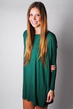 Piko Tunic Dress. i like the green, black, grey, and beet, Medium