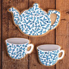 Juego de té de porcelana inglesa | English tea set porcelain