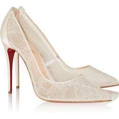 Christian Louboutin Follies Lace Pumps as seen on Jennifer Lopez