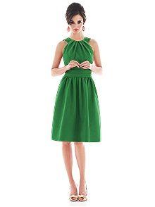 Alfred Sung D492 #green #bridesmaid #dress