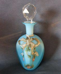 Victorian Satin Glass
