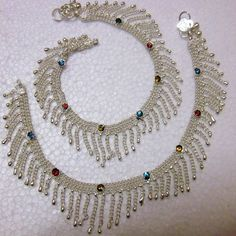 Beautiful Design Silver Plated Anklet (Payal) Very Atrractive Item Silver Anklets Designs, Anklet Designs, Jewellery Designs, Anklet Jewelry, Hair Jewelry, Fallen Angle, Silver Payal, Silver Plate, Jewerly
