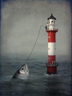 The Big Catch by Catrin Welz-Stein. S)