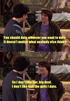 Drake(And Crazy Steve) where my favorite, but not the brightest bulb in the box Only Drake, Drake And Josh, Happy Moments, Funny Moments, Old Nickelodeon Shows, Tv Show Life, Sweet Life On Deck, Old Disney Tv Shows, Josh Peck
