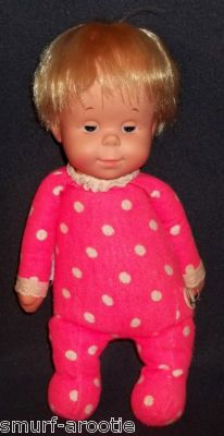 """I loved my Drowsy doll! When you pulled her string she said """"Cover me up"""" """"I want a drink of water"""" and """"Mama love baby?"""" So cute!"""