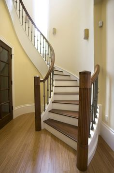 Non-slip Traction for Slippery Stairs - Wood, Bamboo, Tile, Laminate, Vinyl,etc. | No-Slip Tapes