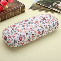 New Hard Glasses Cases Floral Reading Glasses Storage Spectacle Glasses Case