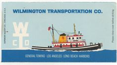 Beach vintage matchbook covers | ... Wilmington Transportation, Matchbook Cover - Store Item# BEACHGUY1723