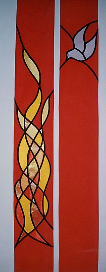 flame banner pentecost - Google Search