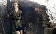 karlie kloss animale winter 2014 campaign3 Preview | Karlie Kloss Stars in Animales Celtic Inspired Winter 14 Ads