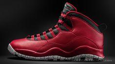 28a51c824f3e3a Air Jordan 10 Retro  Bulls Over Broadway  Grade School Remastered