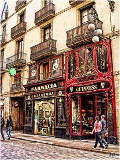 Carrer Ferran 7, from Las Ramblas to Sant Jaume Square Barcelona Catalonia