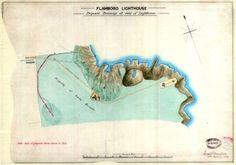Lighthouse prints | Trinity House, Flamborough Head