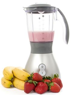 Strawberry-Banana-Oatmeal Smoothie-  1/4 cup uncooked oats (yup, as in oatmeal!)  1-1/2 teaspoons dried chia seeds  3/4 cup milk  1/4 cup orange juice  1/4 cup yogurt (we love Greek yogurt in this smoothie!)  1/2 cup fresh strawberries  1/2 cup fresh banana slices