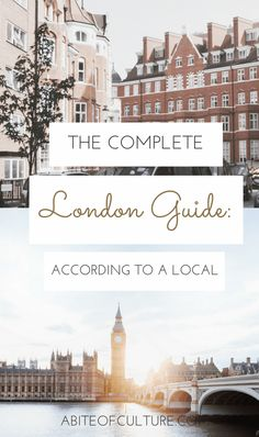 The Complete London Guide: According to a Local - looking for a travel guide for things to do in London, England? From the best coffee shops, what to do, and where to eat in this jewel of an English city, we've got it all directly from a local! These little tidbits will help you experience London like a local. Happy travels and enjoy England!