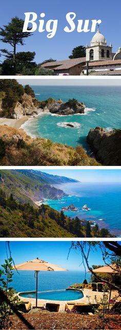 Road Trip Through Big Sur on Rt. 1: California's most enchantingly mesmerizing road trip.