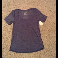 Hurley Brand T-Shirt New! Hurley athletic top. Purple Hurley Tops Tees - Short Sleeve