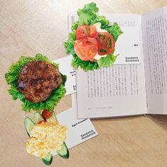 guiltless reading: #BookmarkMonday (28): Sandwich bookmark