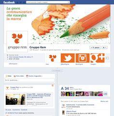 La #Facebook #Timeline di Gruppo Rem, #communications consultancy