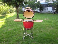Kamado Grill, Grilling, Wood Burner, Fireplace Heater, Sweden, Crickets, Grill Party