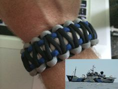 Sea Shepherd Camo Paracord Bracelet!