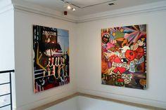 Leonard Johansson, Abstract, Artist, Art contemporary, London, 2014, Korea, London, painting, color, modern, Sweden, Stockholm, new, large, oil on canvas, young, konstnär,Gazelli art house,