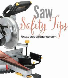 Power tools can be intimidating if you've never used them, but they don't have to be! Check out these great saw safety tips to help you get started.