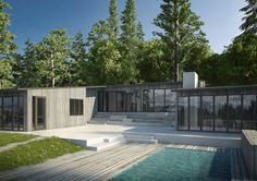 Villa by Jordens arkitekter - Architecture - Private housing