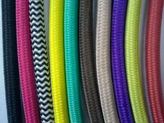More click [.] Fabric Electrical Cord Covers Textile Colorful Braided Power Cord Cable Fabric Cover Cable For Sale Cotton Textile Colored Braids Homesfeed 41 Best Diys To Decorate Cords Images Cord Cover Cords Lamp Cord