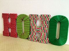 christmas home decor by slava che on Etsy