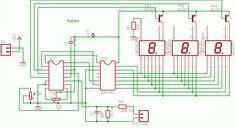 Voltímetro Digital Usando CA3161 e CA3162