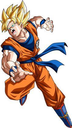 Goku SSJ V2 by SaoDVD