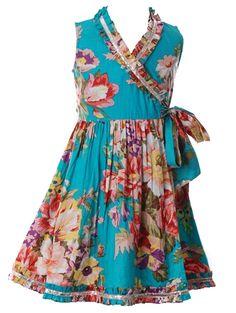 Blueberry dress.