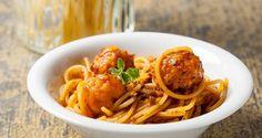Ricetta di Spaghettoni con polpettine al sugo #Star #ricettedastar #ricette #recipes #spaghetti #pasta #food #eat #cook