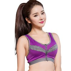 This just arrived our store now: Sexy Women Sports.... Check it out Now! http://www.yogamarkets.com/products/sexy-women-sports-bra-for-running-gym-workout-wire-free-front-zipper-fitness-yoga-vest-bras-hot-sale?utm_campaign=social_autopilot&utm_source=pin&utm_medium=pin