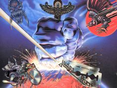 Judas Priest - You've Got Another Thing Comin' bit) Judas Priest, Metal Music Bands, Defender Of The Faith, Unique Curtains, Heavy Metal Rock, Extreme Metal, Horror Show, Metalhead, 8 Bit