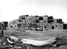 Taos Pueblo, RMS, October 1915